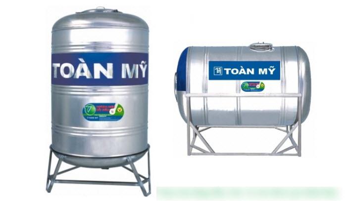 Nên mua bồn nước Inox Toàn Mỹ tại Vinh, Nghệ An loại đứng hay loại nằm?