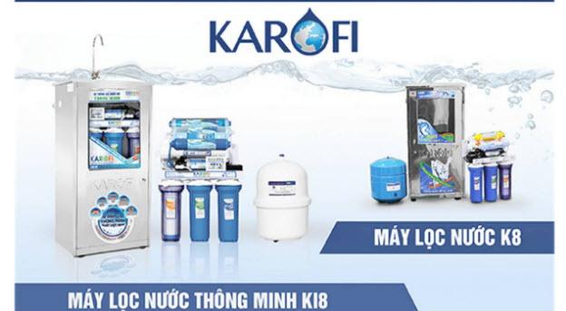 Bảng giá máy lọc nước Karofi ở Yên Thành, Nghệ An tại đại lý chính hãng